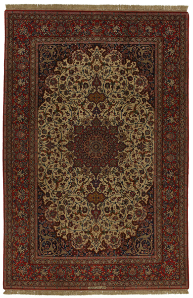 Isfahan Perser Teppich 303x201